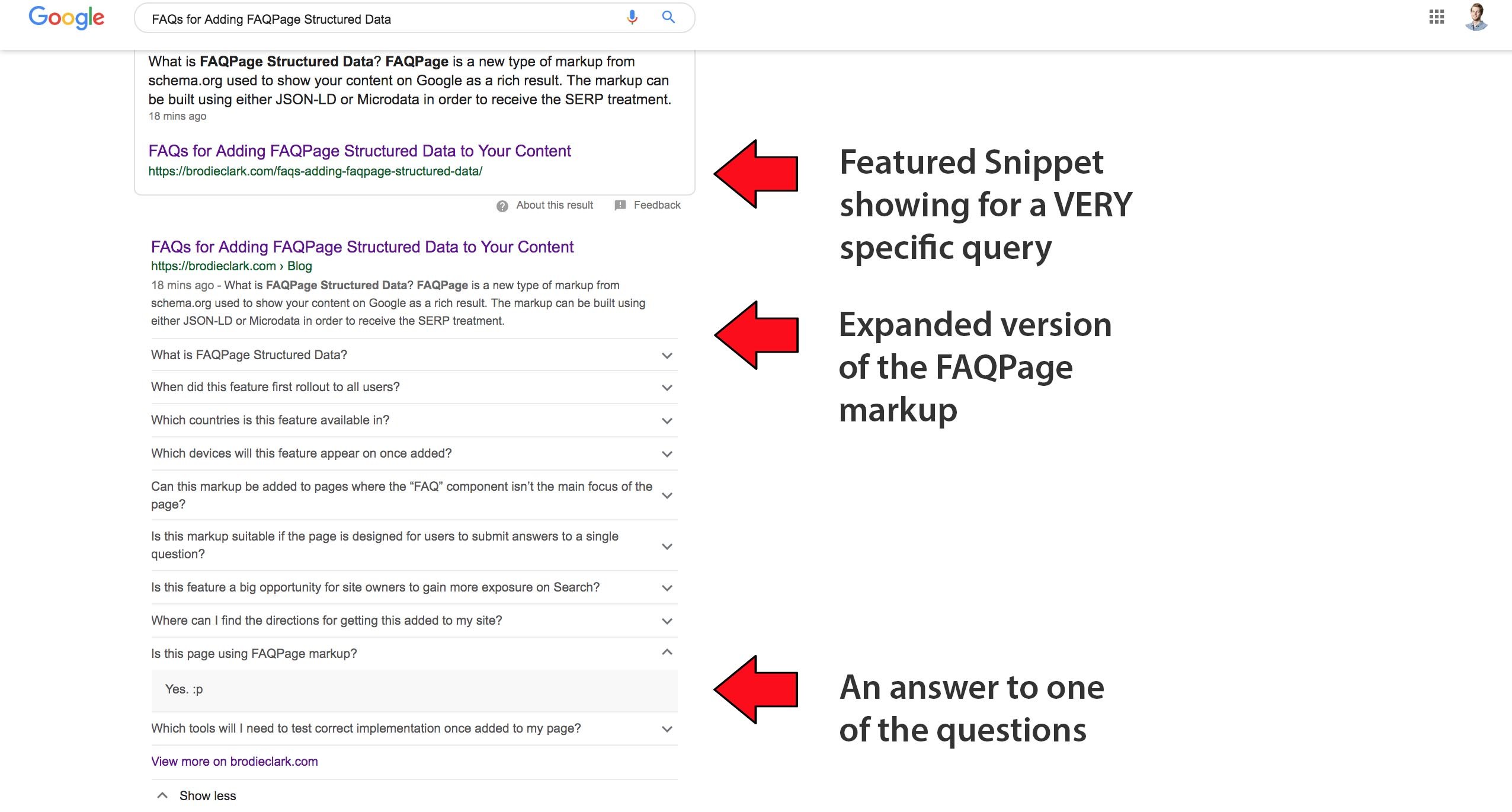 faqs for adding faq schema to a web page